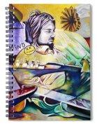 Kurt Cobain- It Aint Medicine Kurt Spiral Notebook