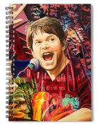 Kyle Hollingsworth At Hornin'gs Hideout Spiral Notebook