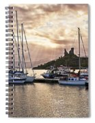 Kyleakin Harbor And Castle Moil Spiral Notebook