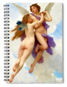 L Amour Et Psych Spiral Notebook
