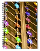 L E D Array 3 Spiral Notebook