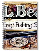 L. L. Bean Hunting And Fishing Store Since 1912 Spiral Notebook
