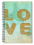 L O V E Between The Lines Spiral Notebook