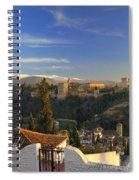 La Alhambra Granada Spain Spiral Notebook