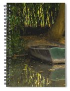 La Barque A Giverny Spiral Notebook
