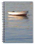 La Barque Au Crepuscule Spiral Notebook