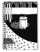 La Beale Isoud At Joyous Gard Spiral Notebook