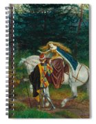 La Bella Dame Sans Merci Spiral Notebook