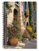 La Bella Strada Spiral Notebook