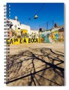 La Boca Graffiti Spiral Notebook