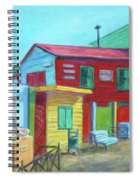 La Boca Morning I Spiral Notebook