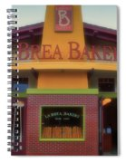 La Brea Bakery Downtown Disneyland Spiral Notebook