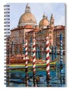 La Chiesa Della Salute Sul Canal Grande Spiral Notebook