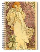La Dame Spiral Notebook