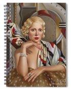 La Femmeen Soiehi  Spiral Notebook