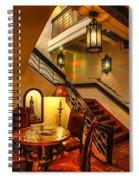 La Fonda Lanterns Spiral Notebook
