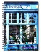 La Fourmi Ailee Paris France Spiral Notebook