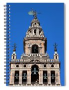 La Giralda Belfry In Seville Spiral Notebook