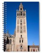 La Giralda Bell Tower In Seville Spiral Notebook