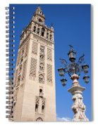 La Giralda Cathedral Tower In Seville Spiral Notebook