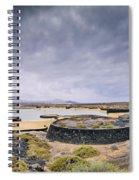 La Isleta On Lanzarote Spiral Notebook