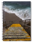 La Jolla Stairs 2 Spiral Notebook