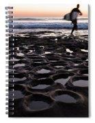 La Jolla Surf Session Part 2 Spiral Notebook