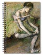 La Jupe Verte Spiral Notebook