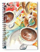 La Laguna Churros Y Chocolate Spiral Notebook