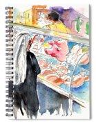 La Laguna Market 03 Spiral Notebook