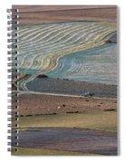 La Mancha Landscape - Spain Series-ocho Spiral Notebook