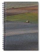 La Mancha Landscape - Spain Series-siete Spiral Notebook