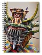 La Mascarada Spiral Notebook