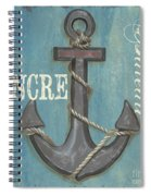 La Mer Ancre Spiral Notebook