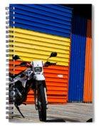 La Motocicleta Spiral Notebook