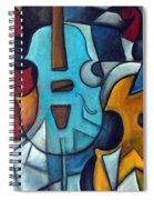 La Musique 2 Spiral Notebook