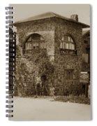 La Playa Carmel And Located At Camino Real At Eighth Ave. Circa  1925 Spiral Notebook