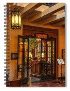 La Plazuela Spiral Notebook