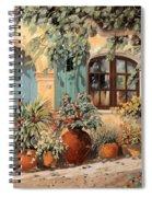 La Porta Azzurra Spiral Notebook