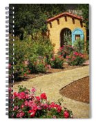 La Posada Gardens In Winslow Arizona Spiral Notebook