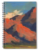 La Quinta Mountains Morning Spiral Notebook