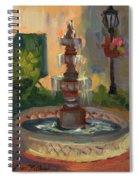 La Quinta Resort Fountain Spiral Notebook
