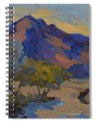 La Quinta Shadows Spiral Notebook