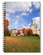 La Roche College On A Fall Day Spiral Notebook