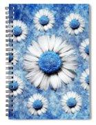 La Ronde Des Marguerites - Blue V05 Spiral Notebook