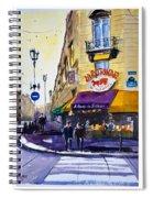 La Rotonde Des Tuileries Spiral Notebook