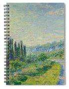 La Route De Vetheuil Spiral Notebook