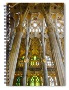La Sagrada Familia Iv Spiral Notebook