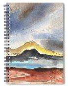 La Santa In Lanzarote 01 Spiral Notebook