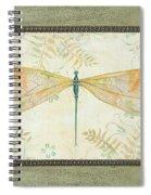 La Sauge Libellule-3 Spiral Notebook